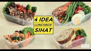 Diet food tak semestinya boring! Jom cuba 4 idea lunchbox sihat ni =) RESIPI PENUH: http://bit.ly/lunchboxsihat Jangan lupa subscribe untuk lebih banyak ...