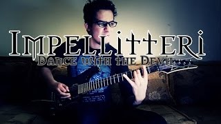 """Impellitteri - Dance With The Devil """" Full Guitar Cover with Solo """" By MetalbarD"""