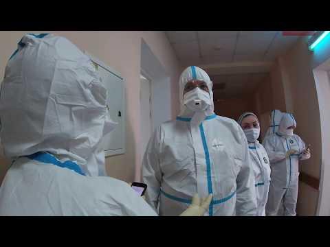 3,5 часа в ковидной больнице/3.5 Hours In A Coronavirus Hospital