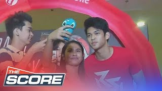 The Score: Ricci Rivero's first ever grand fans day