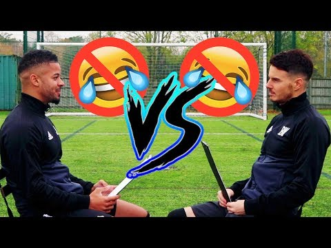 BILLY WINGROVE VS JEREMY LYNCH | NO LAUGH CHALLENGE!