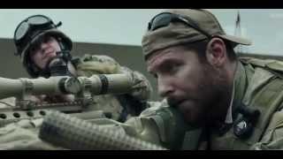 Американский снайпер 2015 Трейлер в HD на kinobelka.net