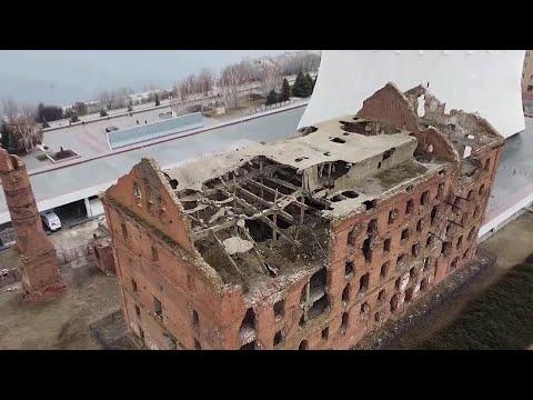 В Волгограде начал разрушаться один из памятников Великой Отечественной - паровая мельница Гергардта