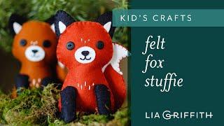 Felt Fox Stuffies