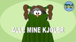 Alle mine kjoler (Se min kjole) - Barnesanger på norsk