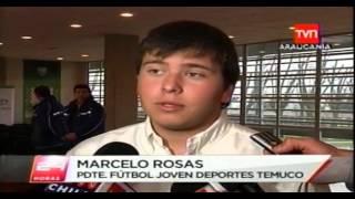 Presentación Camisetas fútbol Joven CD Temuco 2012