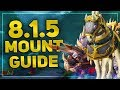 Mounts In Patch 8.1.5 & How To Get Them! | WoW BfA Mount Guide