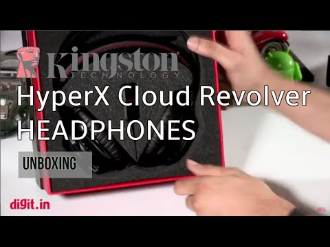 Kingston HyperX Cloud Revolver Headphones Unboxing | Digit.in
