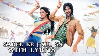Saree Ke Fall Sa - Full Song With Lyrics - R...Rajkumar