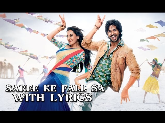 Saree Ke Fall Sa - Full Song With Lyrics - R...Rajkumar Travel Video