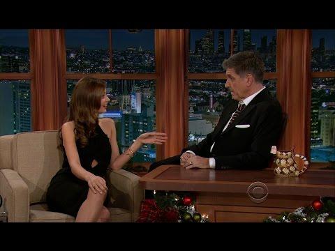 Late Late Show with Craig Ferguson 12/3/2012 Seth MacFarlane, Miranda Kerr, Richie Sambora
