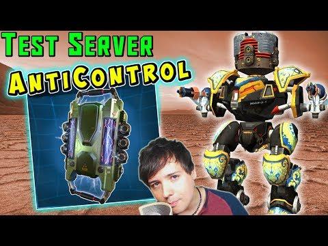 New Modules Anticontrol & Death Mark Gameplay - War Robots Test Server WR