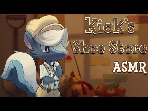 Kick's Shoe Store | Animal Crossing : ASMR Roleplay
