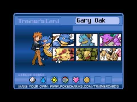 All Gary's Pokémon