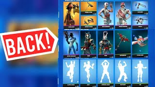 THE RAREST ITEM SHOP IN THE HISTORY OF FORTNITE! (Vaulted A Year Or More Item Shop)