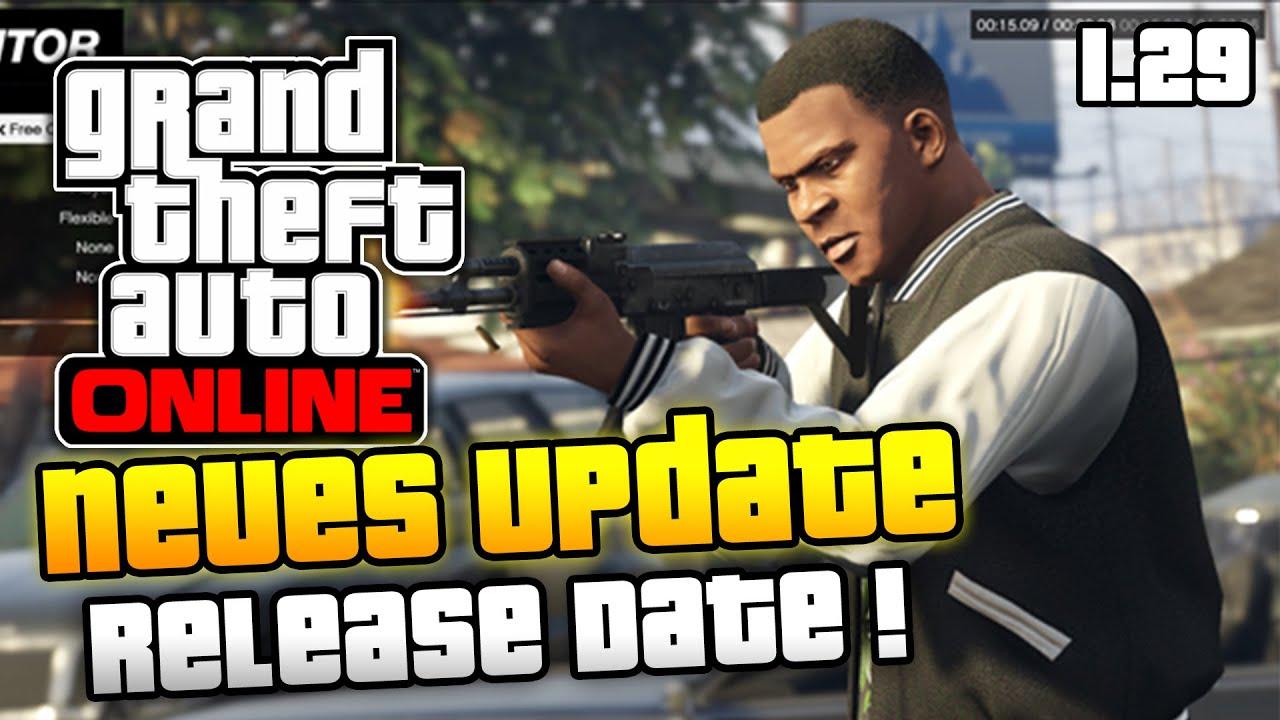 Gta 5 online update release date