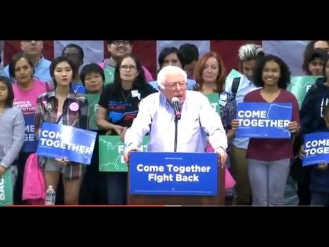 Bernie Sanders speaks in Las Vegas 4-22-17