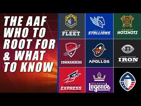 Who to root for in the AAF.