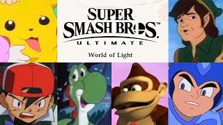 Super Smash Bros. Ultimate World of Light - The Animated Trailer
