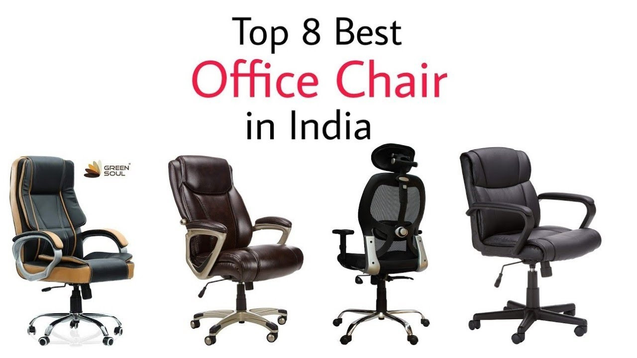 Top 10 Best Office Chair in India with price 10  Cheap Ergonomic Office  Chair Brands