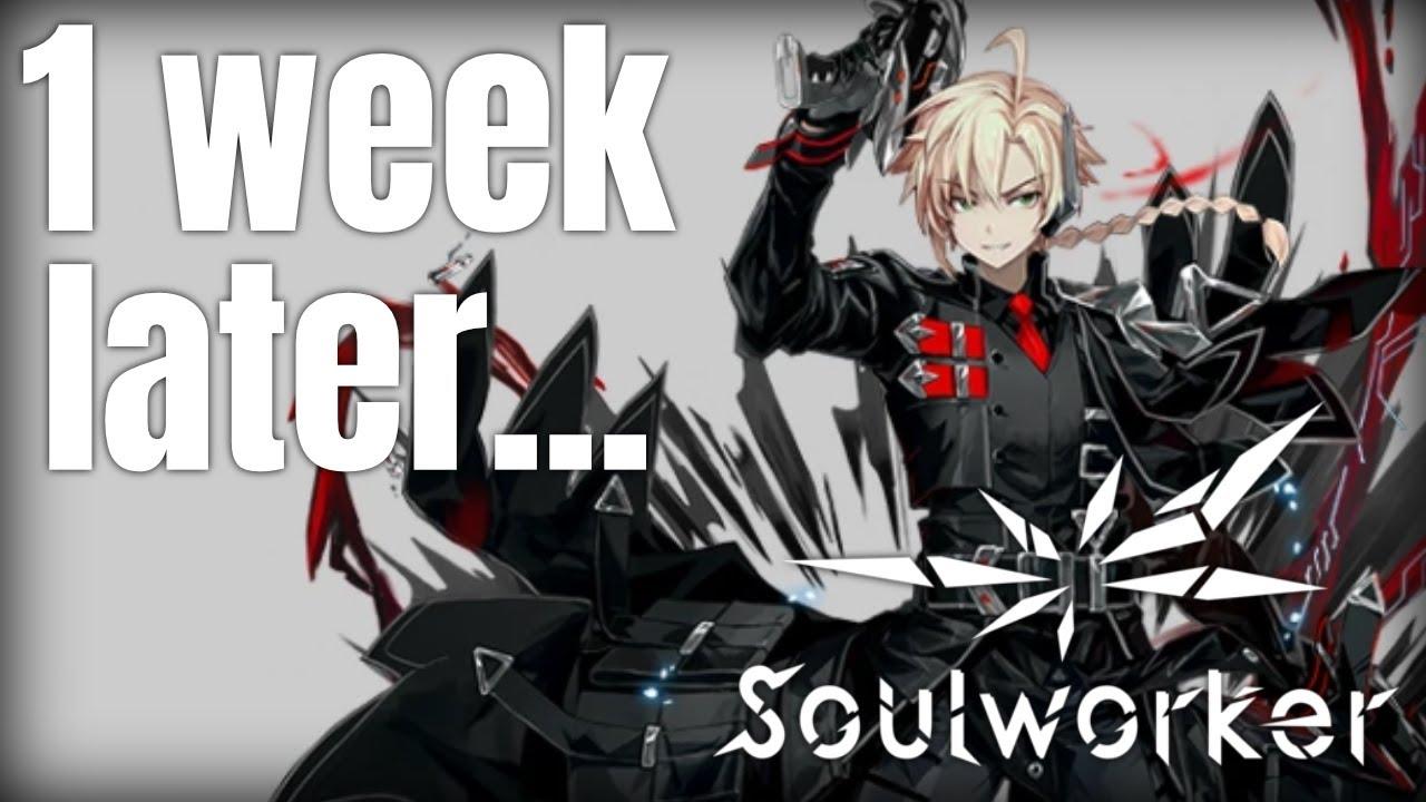 [Soulworker] 이나비 - 별작가 Speed Painting #소울워커 #이나비