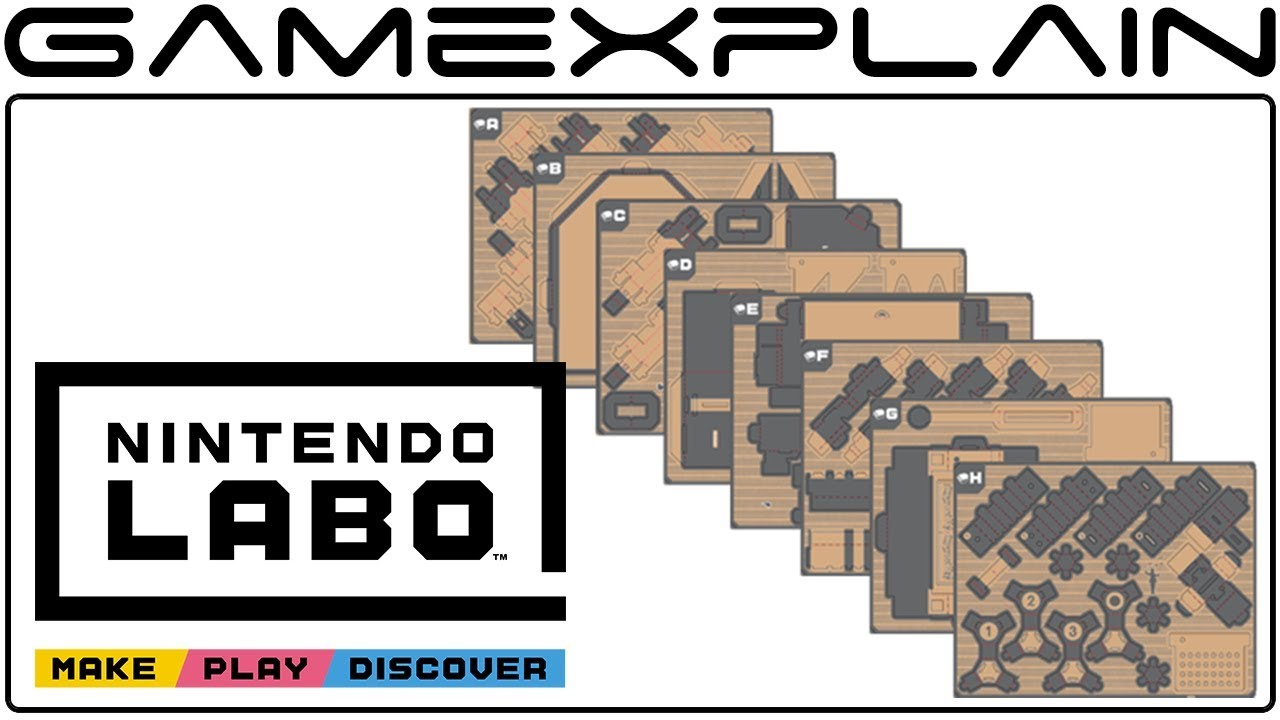 Nintendo Labo Replacement Parts Now Available + Pricing ...