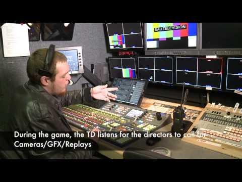 NAU- TV Sports Crew Technical Director Training Video