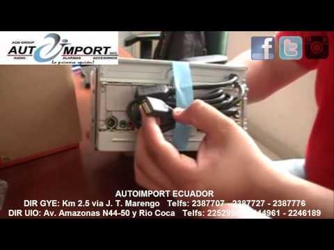Sony XAV 612BT UNBOXING ESPAÑOL