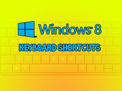 Windows 8 Keyboard Shortcuts free Download :popular-software.com