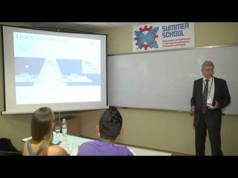 Dr.Harter's lecture on BIPV. Part#1: Introducing to solar technology
