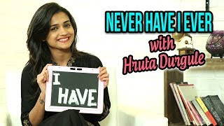 Never Have I Ever With Hruta Durgule | Marathi Actress | Phulpakharu & Durva Marathi Tv Serial