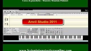 Corso di pianoforte - Lezione 02 - Esercizi di lettura - Le varie tastiere.
