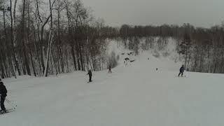 Обучение сноуборду Казань: Разгрузка вниз