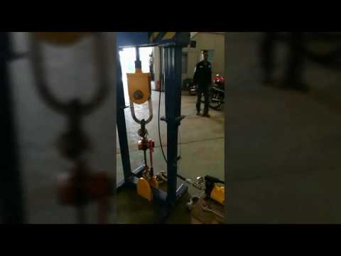 Portable Load Test on Manual Chain Block