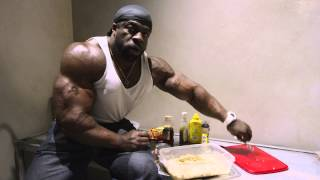 Cooking A High Calorie Meal W/ Kali Muscle