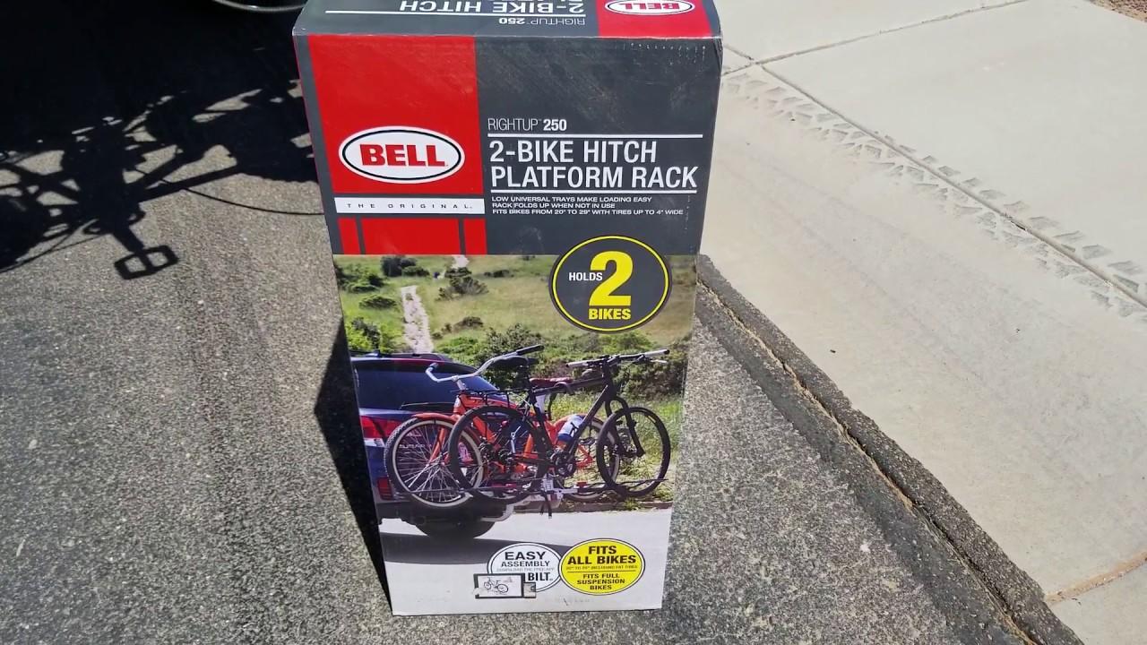 Bell Rightup 250 Bike Rack 2 Hitch Platform