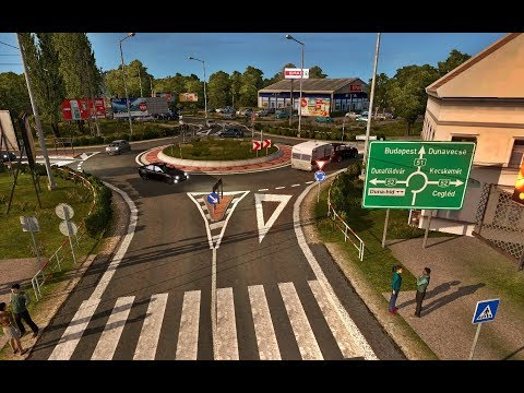 ETS2 - Hungary Map - 1.30
