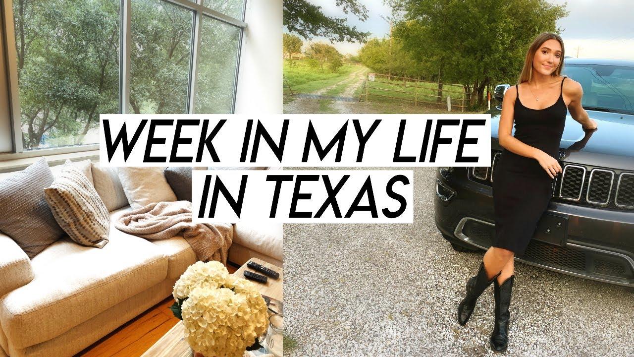 WEEK IN MY LIFE | work week, home goods haul, cooking new recipes, and weekend trip!