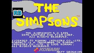 1991 [60fps] The Simpsons DEMO