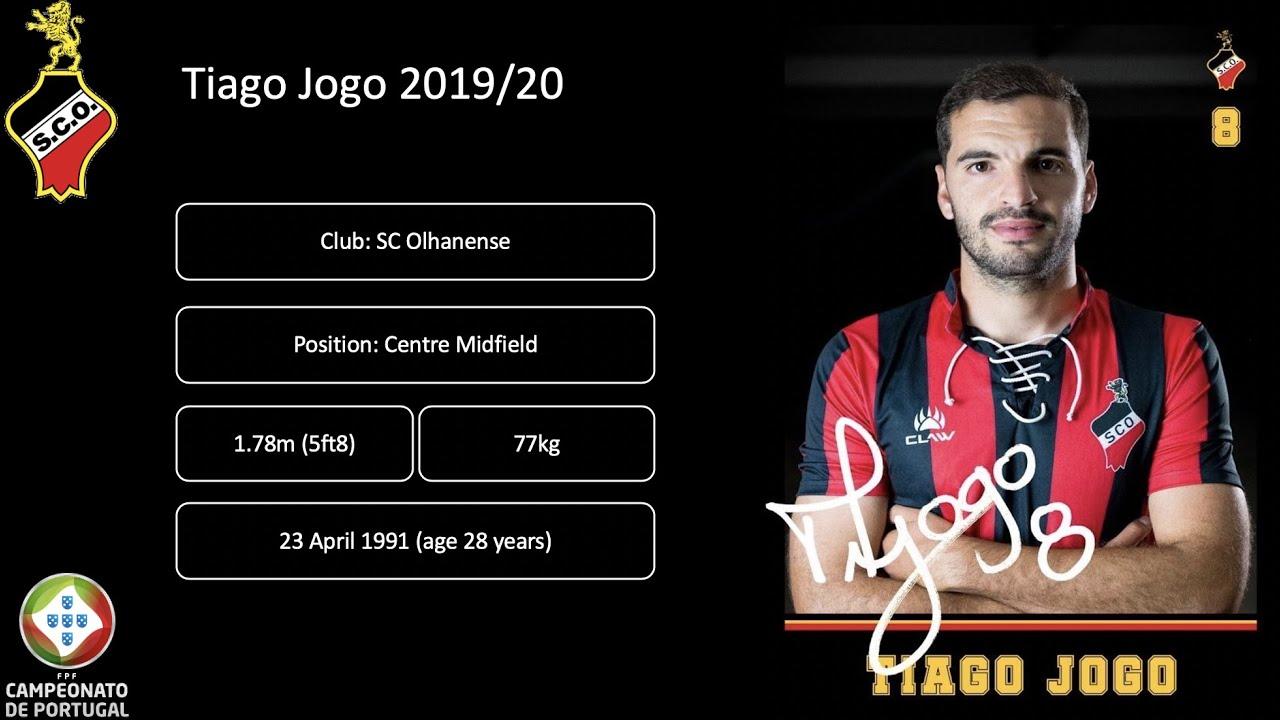 Tiago Jogo - SC Olhanense 2019/20 - YouTube