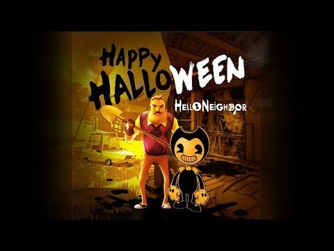 Hello Neighbor x Bendy and the Ink Machine Crossover Full Game