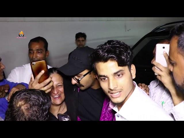 Ranveer Singh Fan's Go Crazy For Selfie Outside Dharma Office at khar