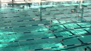 2014年九龍西區小學學界游泳比賽-郭穎希50蛙冠軍