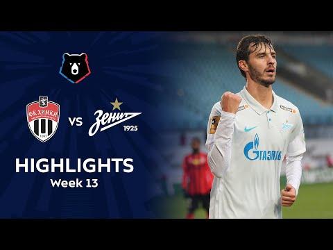 Khimki Zenit Petersburg Goals And Highlights