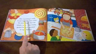 "Kindergarten Read aloud ""Pizza at Sally's"" by Monica Wellington"