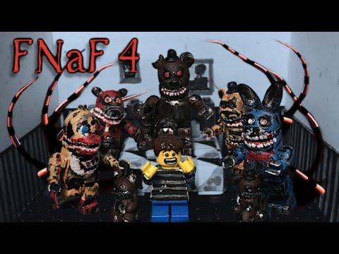Lego Five Nights at Freddy's 4 - Лего Пять Ночей у Фредди 4 (DM часть 11)