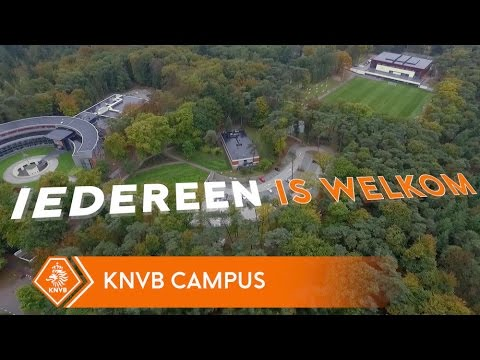 Een speciale tour over de KNVB Campus