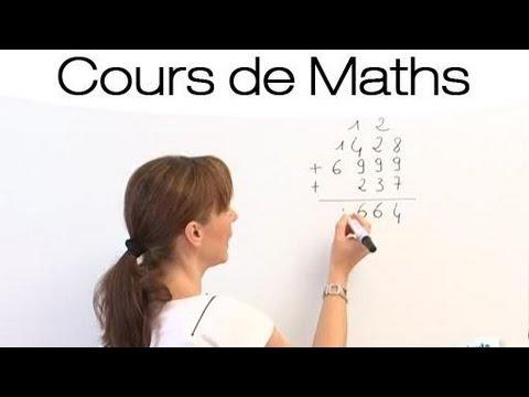 Maths faciles : Comment faire une addition ?
