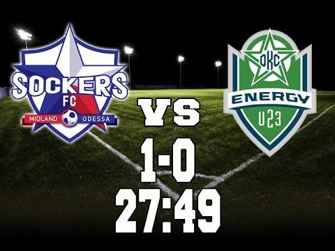 Sockers FC vs Oklahoma City Energy U23