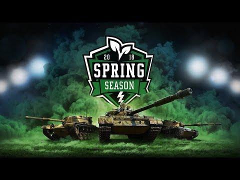 Pro Spring Season Tournament Live!  - Wot Blitz